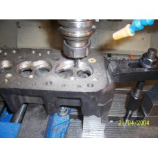 CNC Machined Cylinder Head Chambers