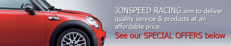 JONSPEED RACING are BMW Mini experts and aim to deliver quality service & products at an affordable price.